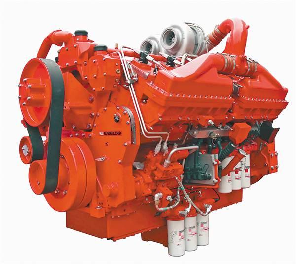 康明斯qsk38发动机.