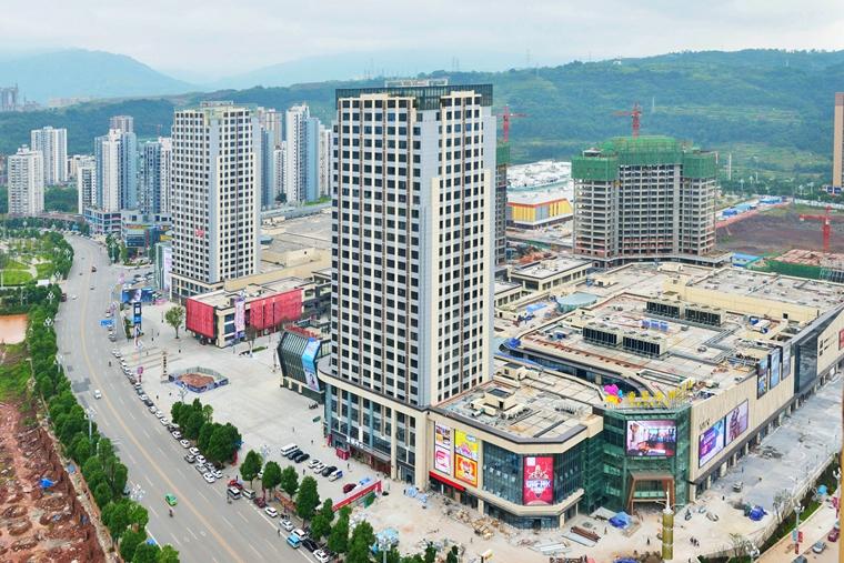 綦江老县城地图