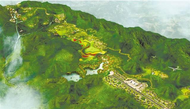 南川区太平场镇运动休闲特色小镇 森林越野公园为核 五大业态融合发展图片