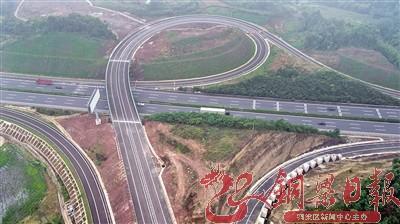 渝蓉高速公路铜梁围