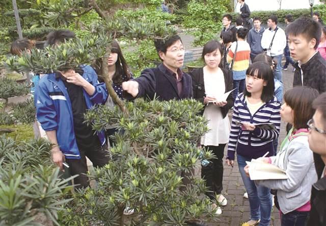 重庆市风景园林技工学校 扮靓城市绿化的最美风景