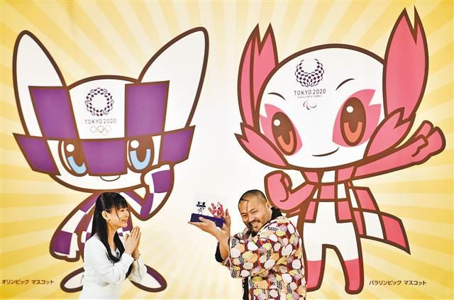 东京奥运会和残奥会吉祥物揭晓图片