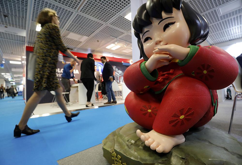 法国戛纳秋季电视节开幕 中国担任主宾国图片