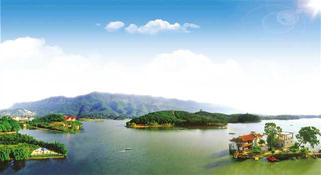 龙水湖国家级水利风景区