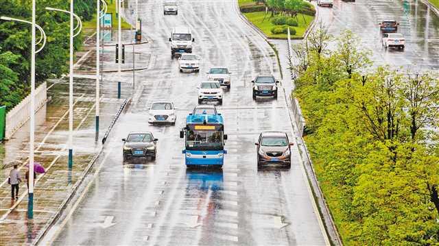 西部首条自动驾驶公交线在永川投用